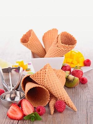 Cono cialda per gelato
