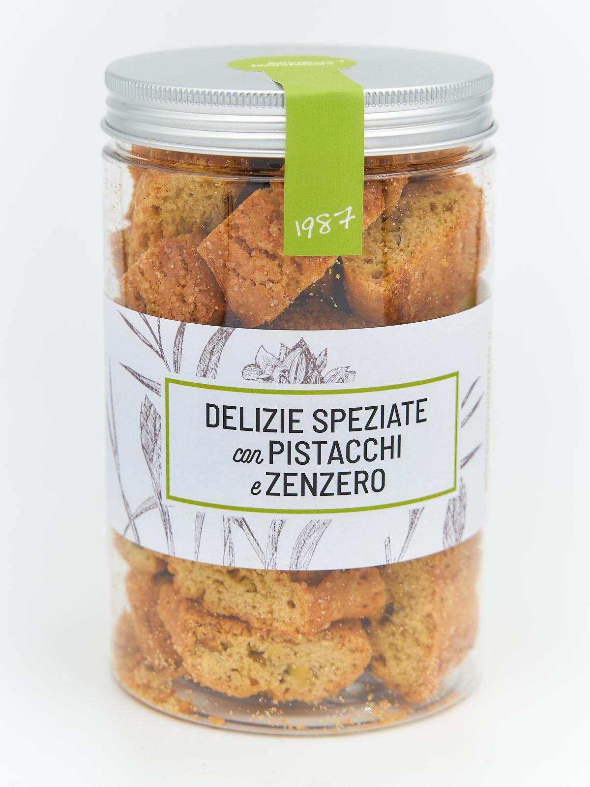 Delizie Speziate con Pistacchi e Zenzero