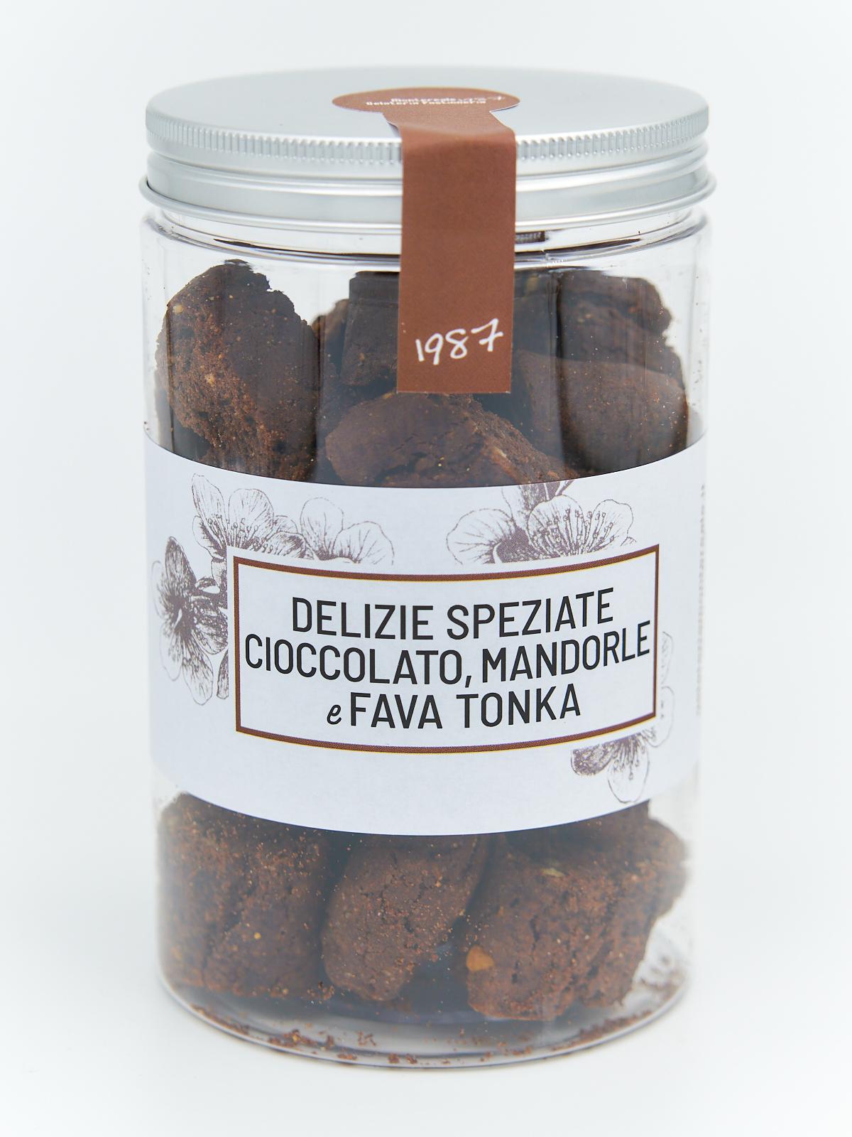 Delizie Speziate Cioccolato, Mandorle e Fava Tonka